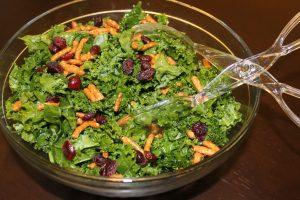 newmans own organics kale berry salad