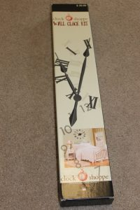 large wall clock gear