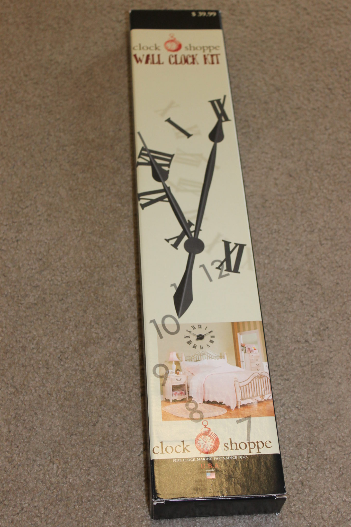 Large Photo Wall Clock Diy Arts Amp Crackers