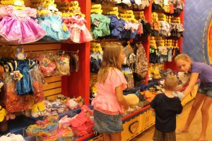 build a bear clothes shopping
