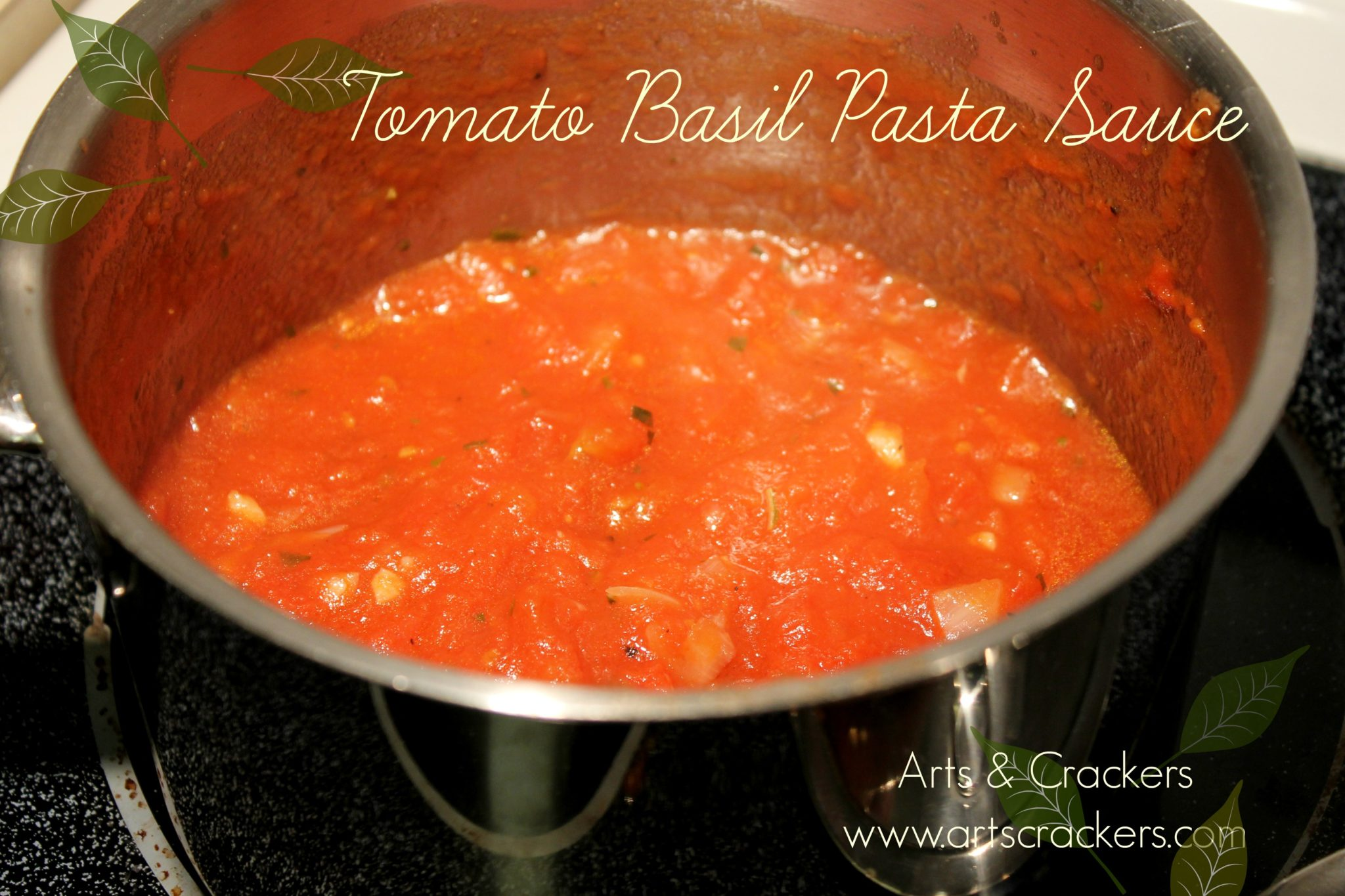 how to cook tomato basil pasta sauce