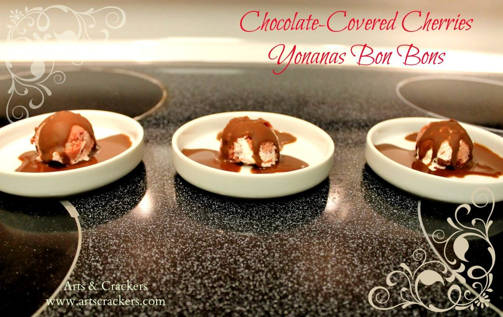 yonanas chocolate covered cherries