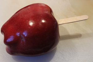 caramel apple turkey with stick