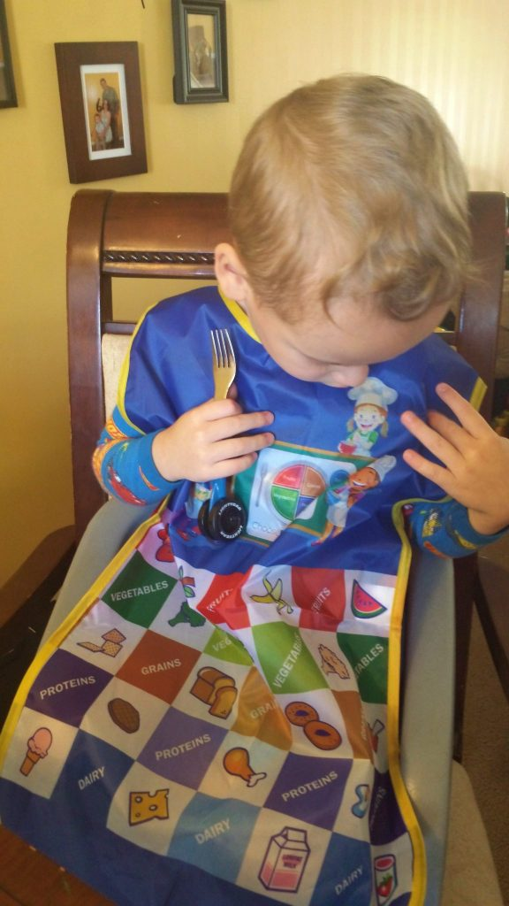 fresh baby apron