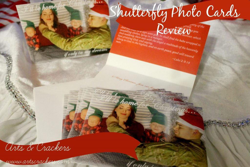 Shutterfly Review-Photo Pillows and Christmas Cards