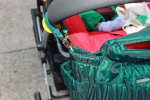 timi and leslie emerald bag stroller straps