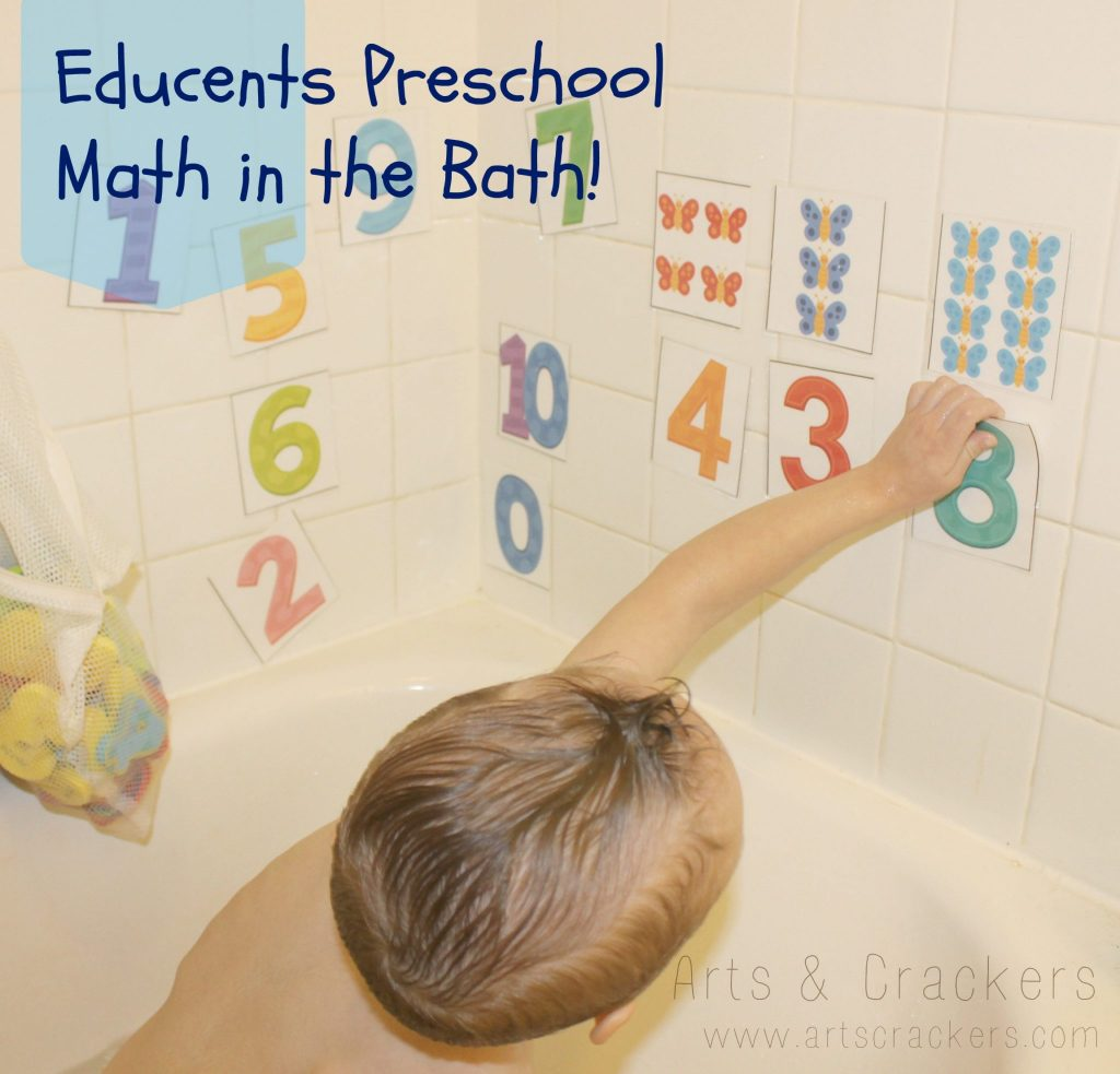 educents preschool math in the bath