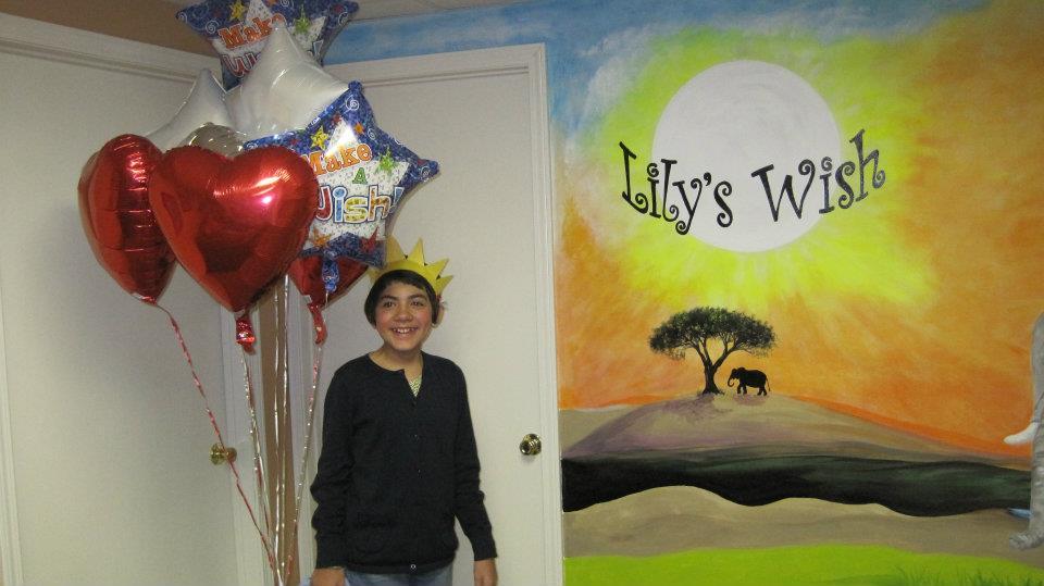 lily make a wish