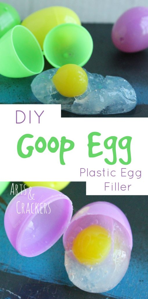 This goop egg is a fun Easter egg filler for older kids! Get the goop recipe when you click the picture.