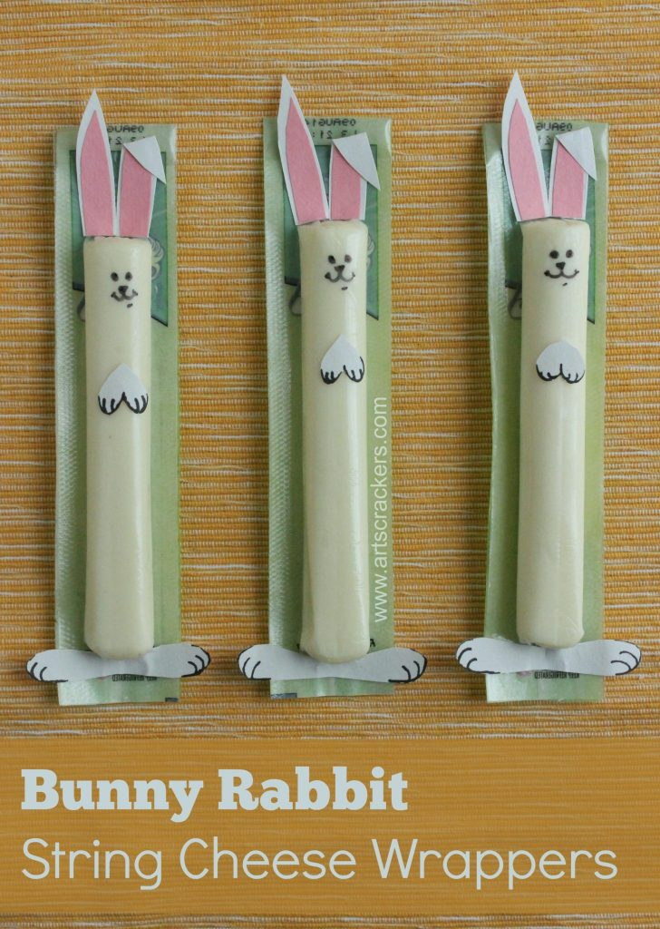 bunny rabbit string cheese wrappers vertical 2