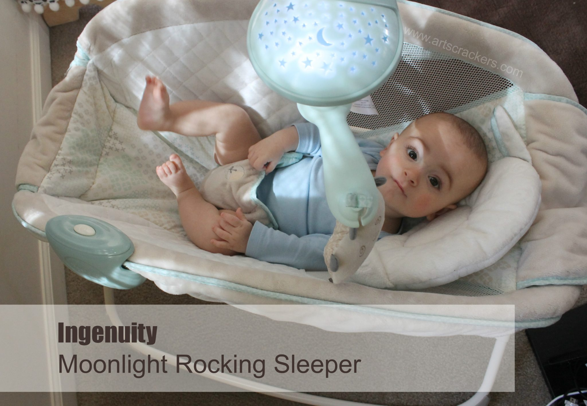 ingenuity moonlight rocking sleeper