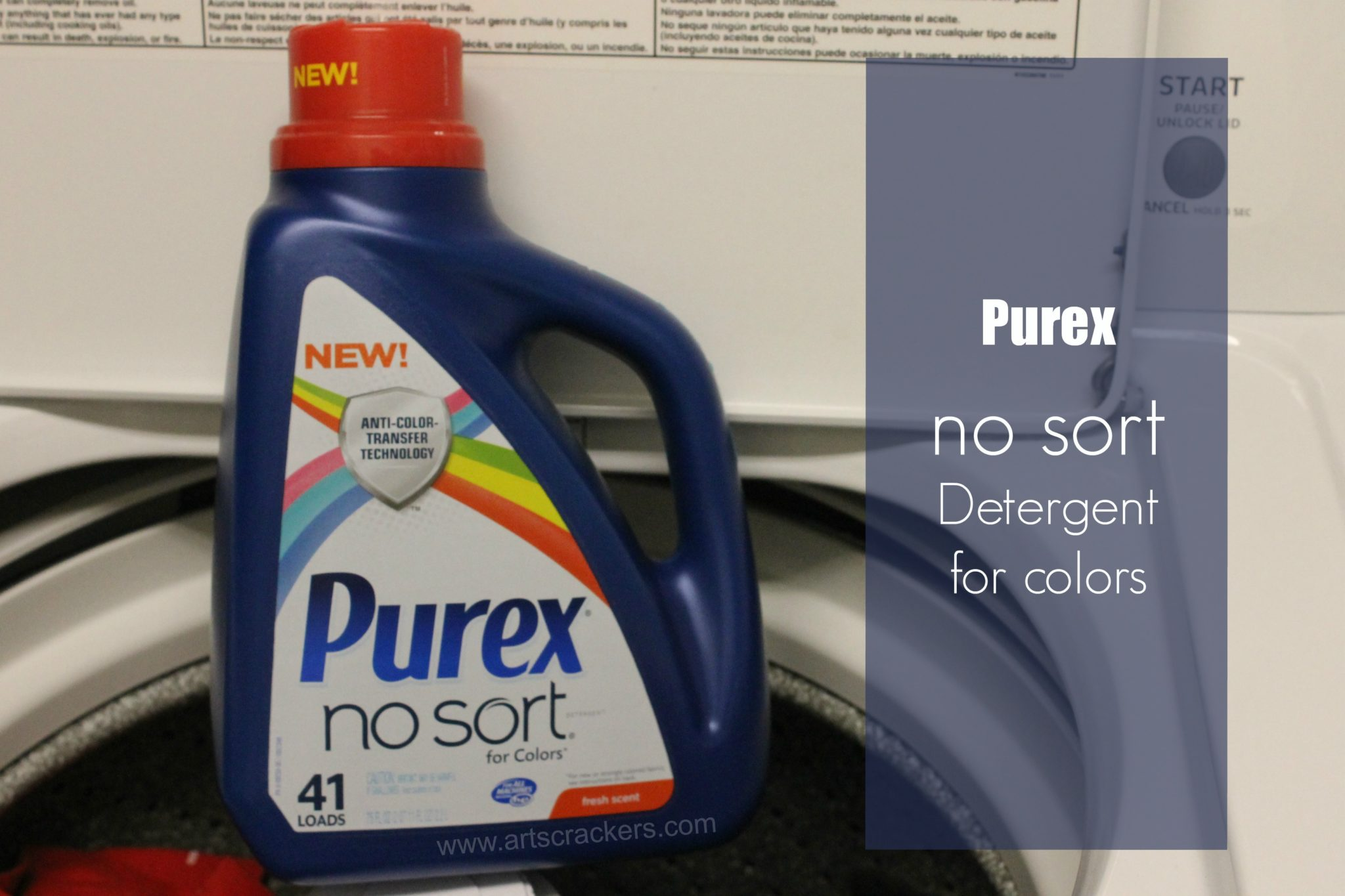 purex no sort detergent
