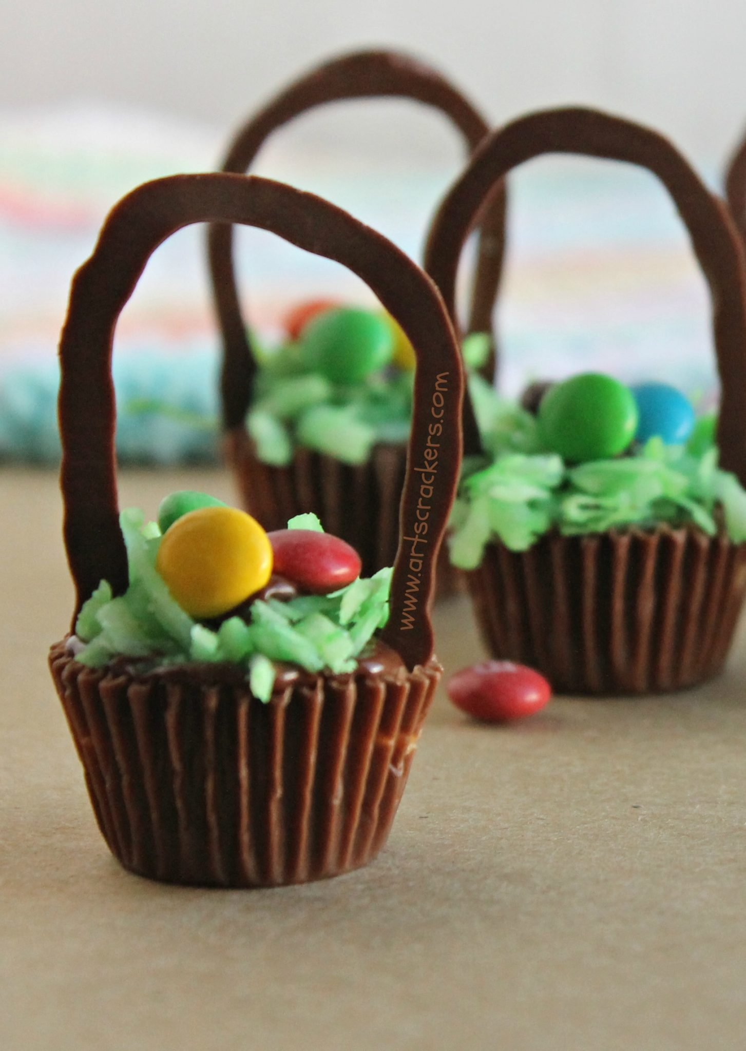 reeses cup easter baskets