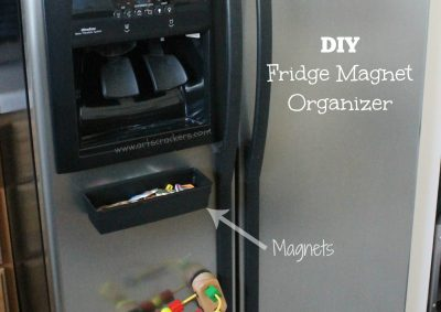 Fridge Magnet Organizer