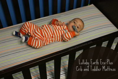 Lullaby Earth Eco-Plus Crib and Toddler Mattress