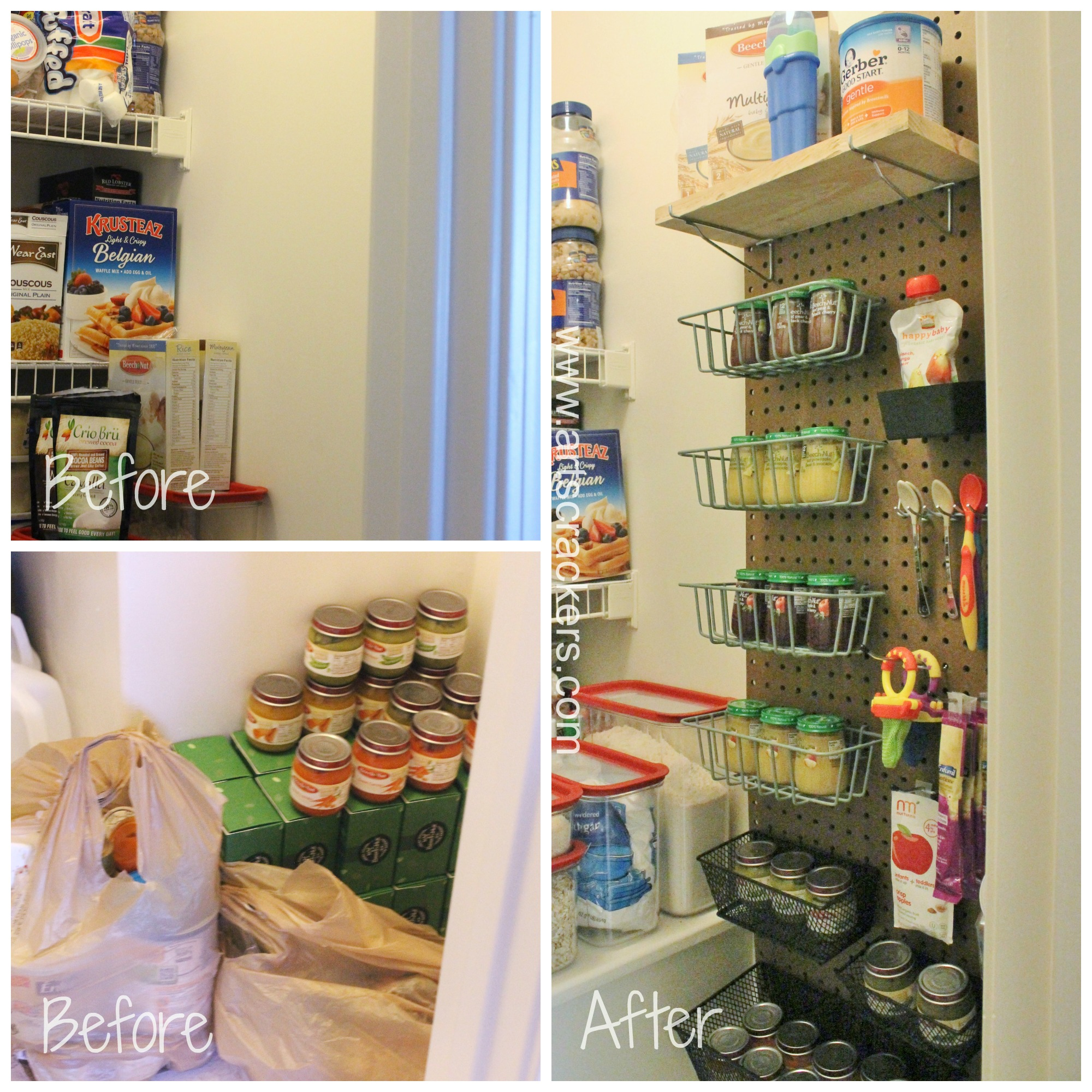 Baby Food Pantry Organizer