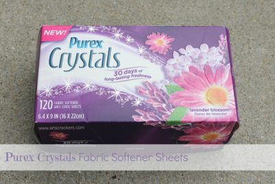 Purex Crystals Fabric Softener Sheets