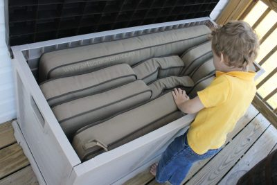 Huge Spacious Outdoor Storage Container