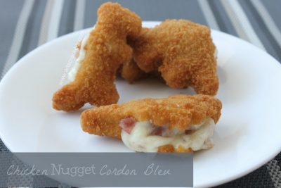 Chicken Cordon Bleu with Chicken Nuggets