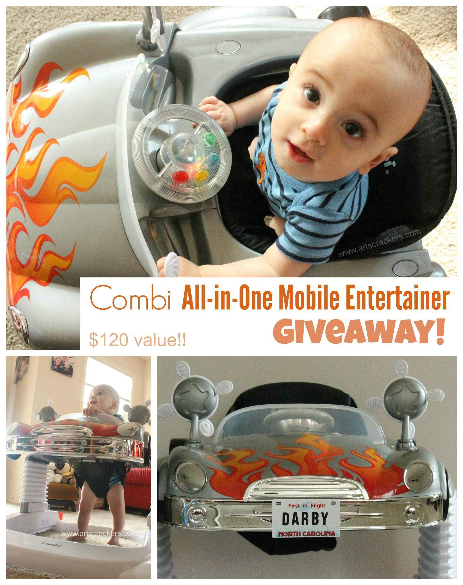 Combi All in One Mobile Entertainer Giveaway
