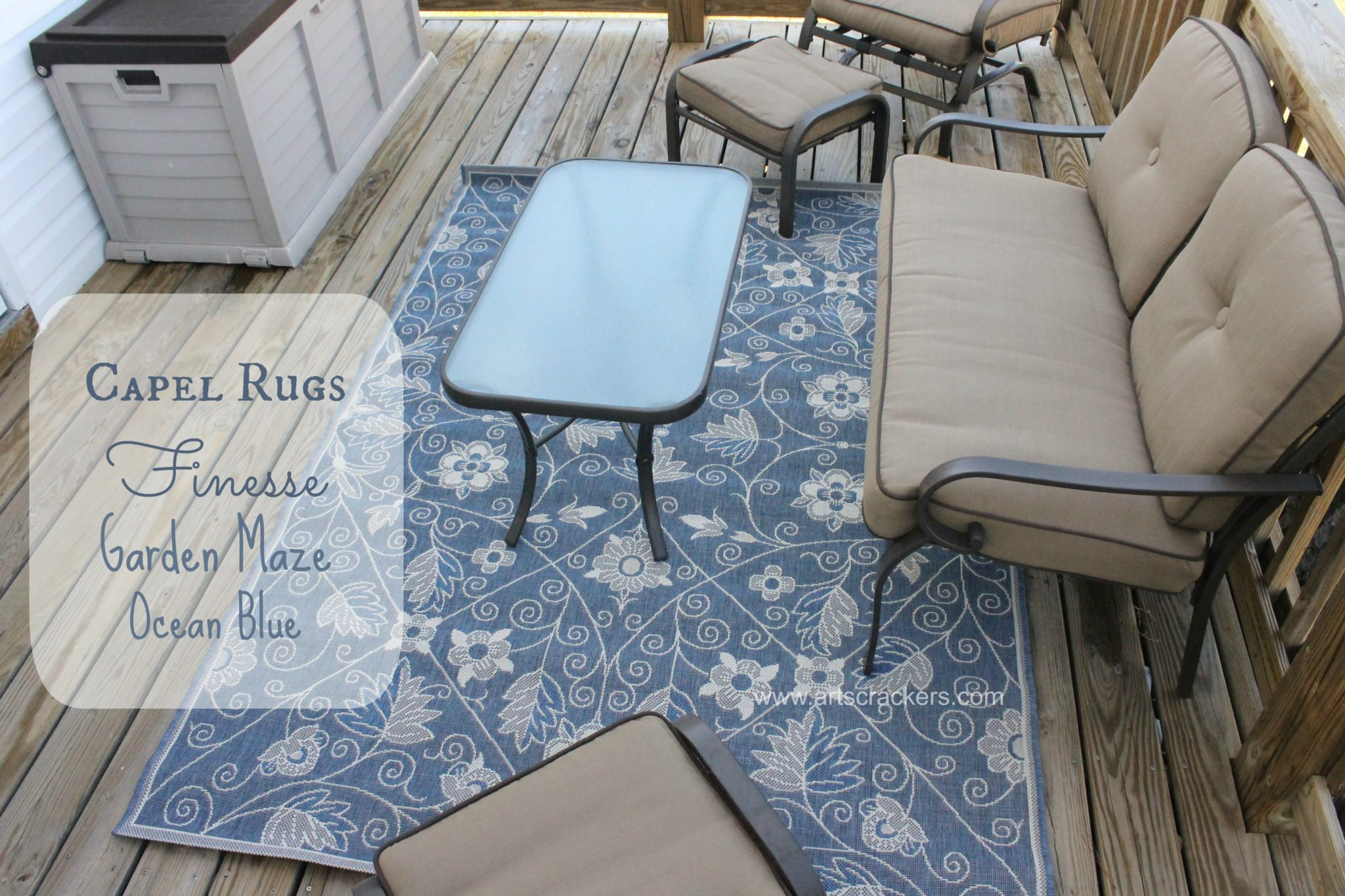Patio Makeover Outdoor Area Rug