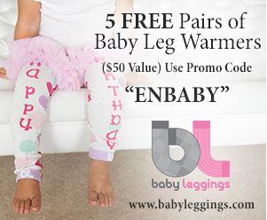 Five Free Pairs Patterned Baby Leggings