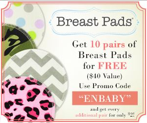 Free Washable Breast Pads