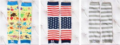 Patterned Leg Socks for Babies