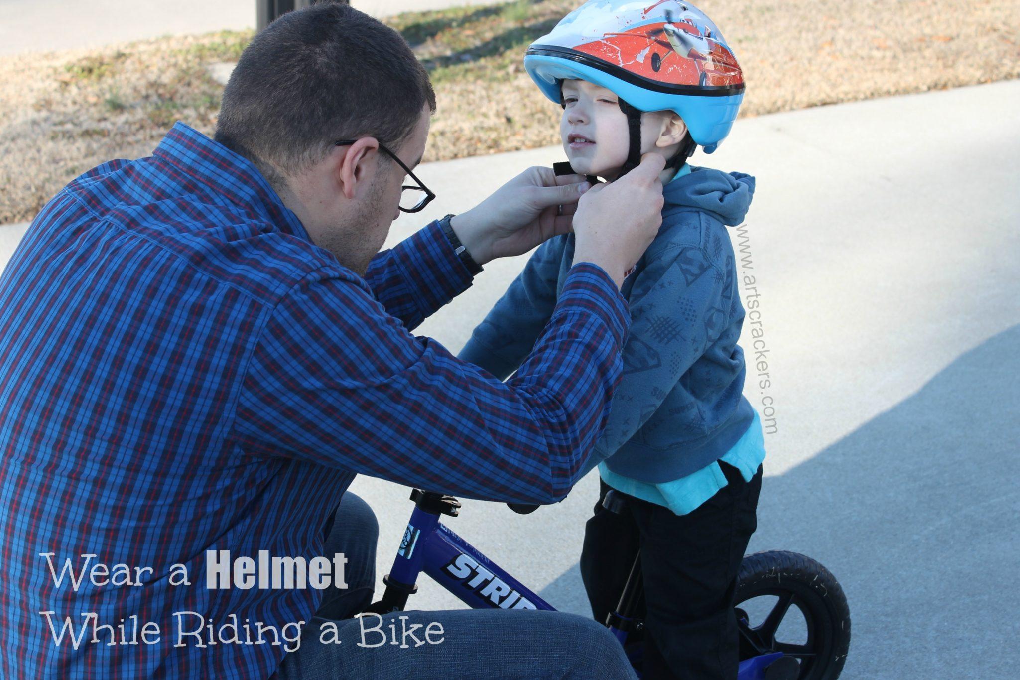 Always Wear a Helmet While Riding a Bike