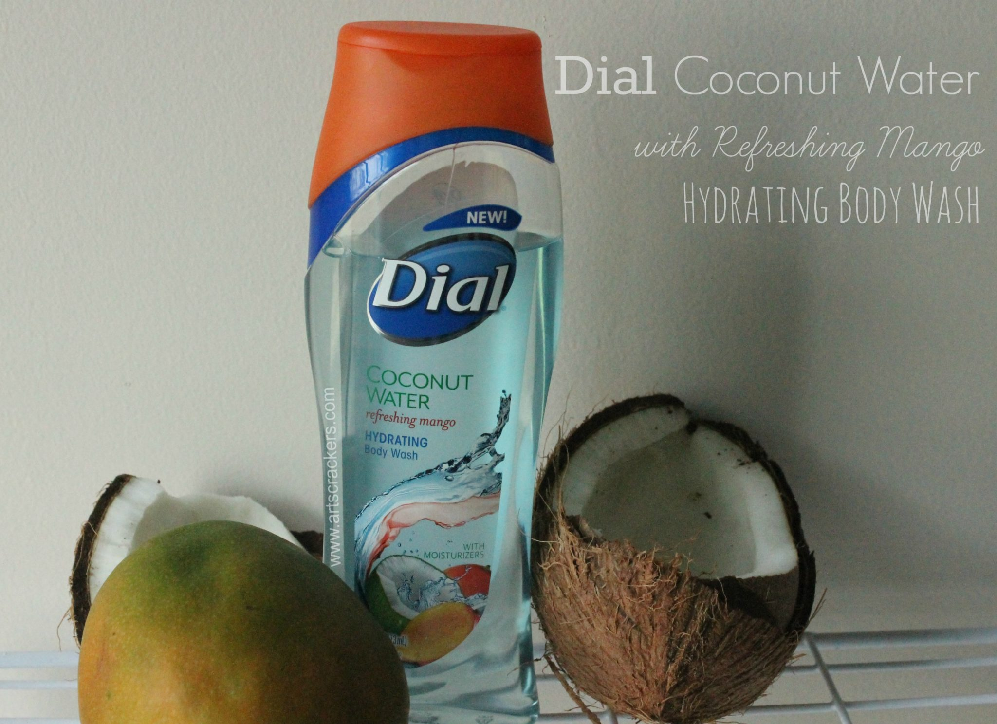 Dial Coconut Water with Refreshing Mango Hydrating Body Wash
