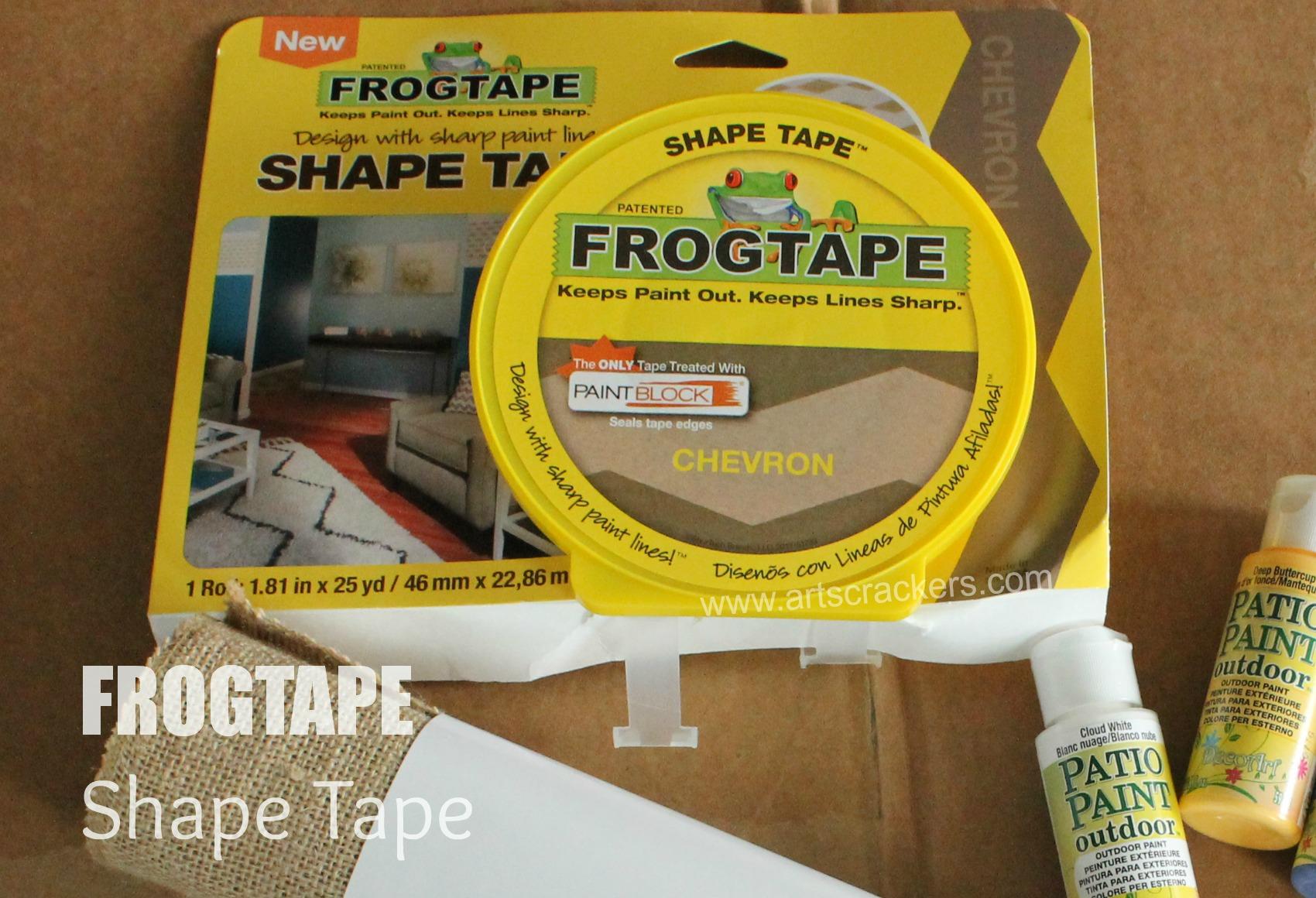 Frogtape Shape Tape Chevron