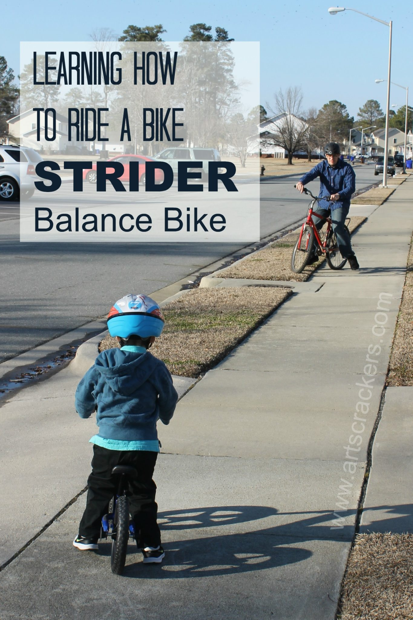 Learning How to Ride a Bike Strider Balance Bike Review