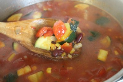 Southwest Soup Sabroso Spoonful
