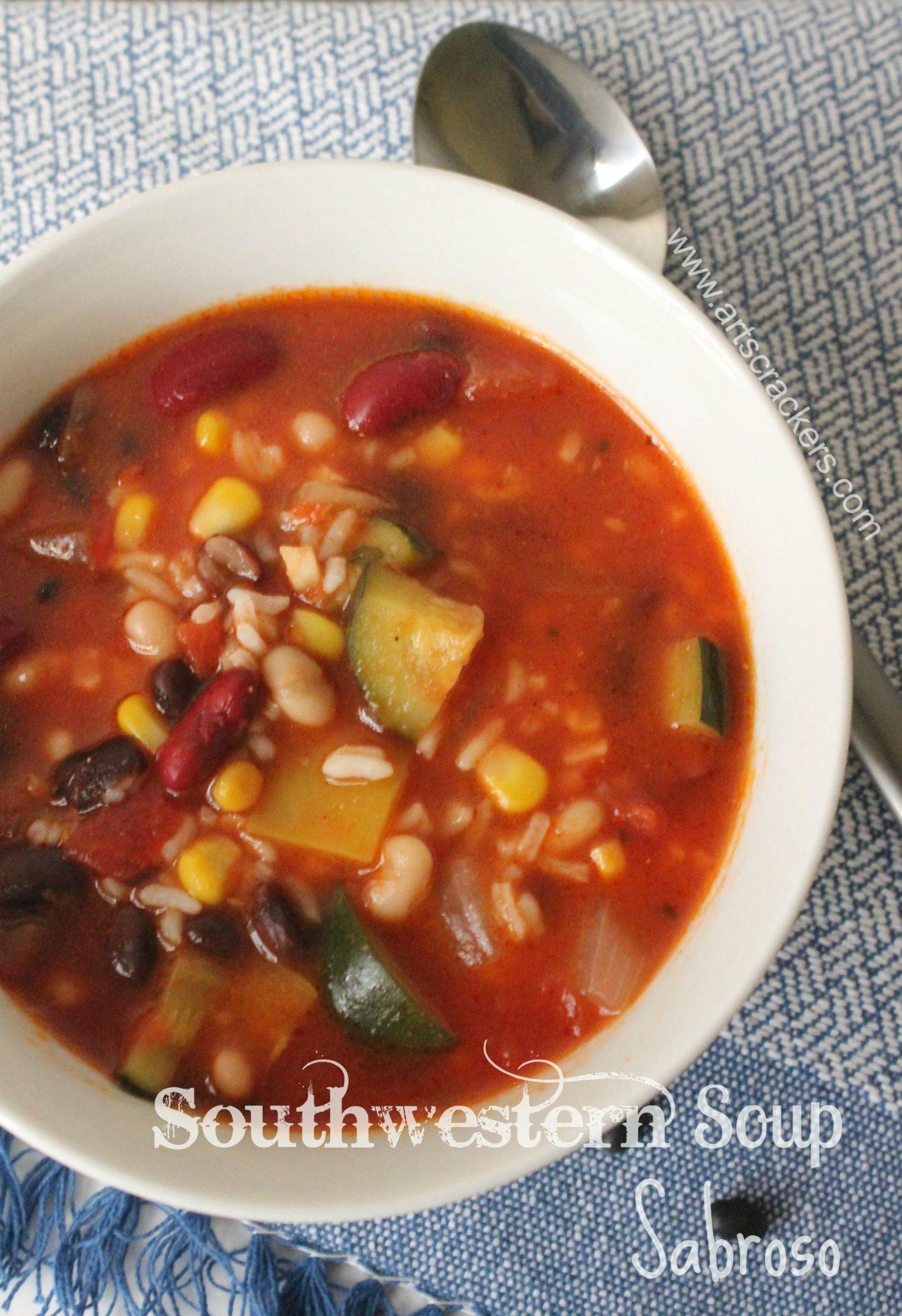 Southwestern Soup Sabroso Recipe