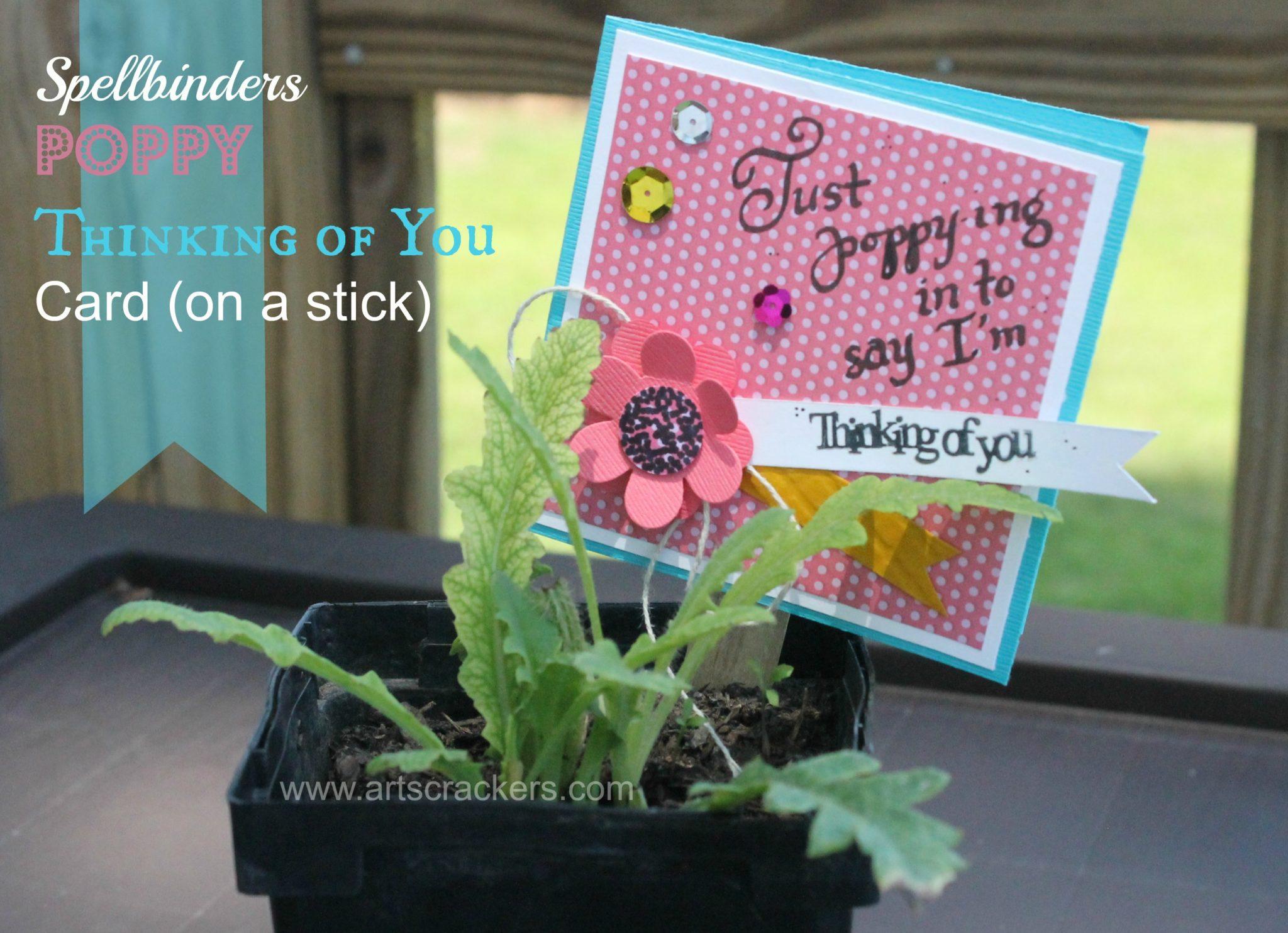Poppy Flower Paper Craft Idea
