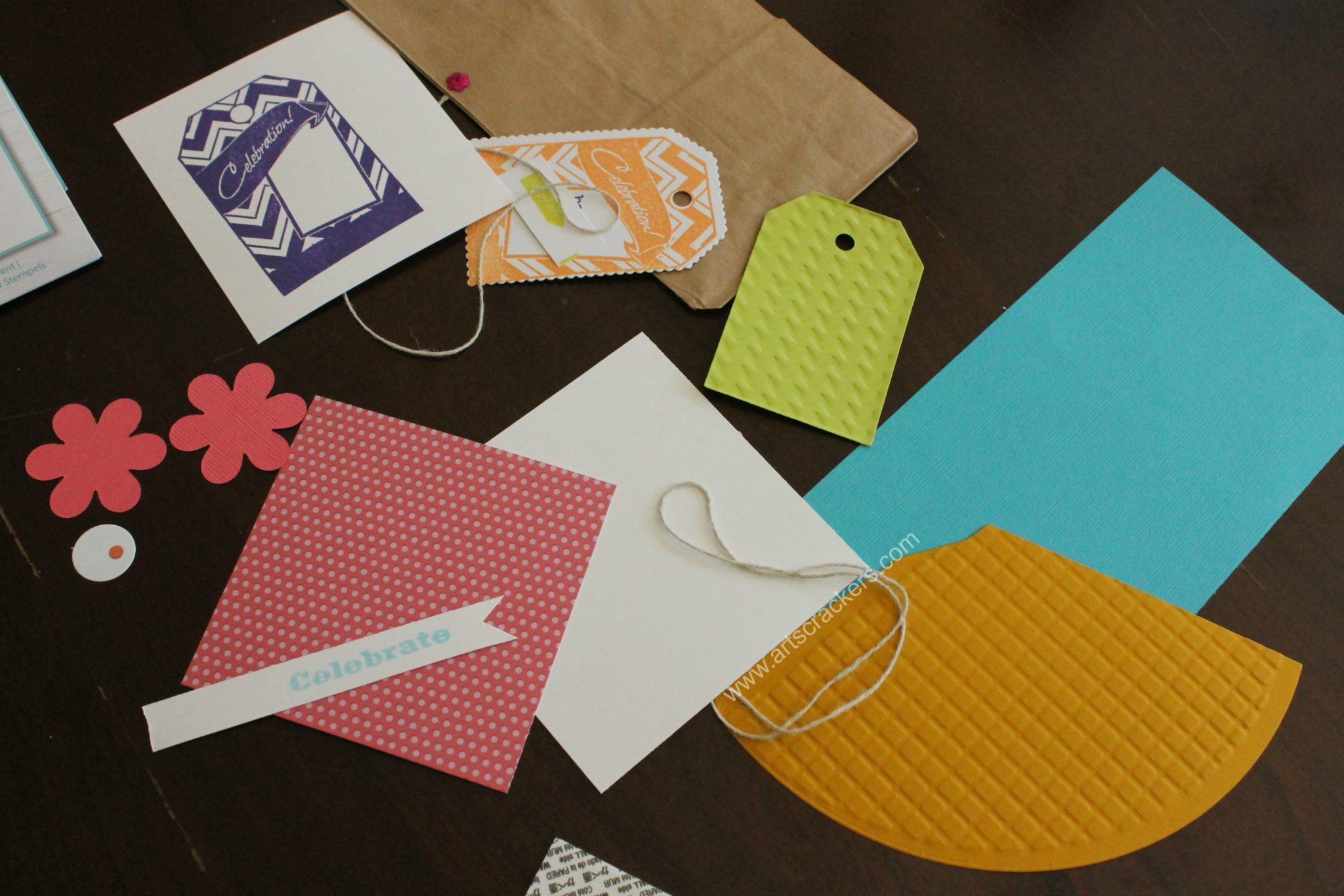 Diecutting Rubber Stamping Embossing Card Making