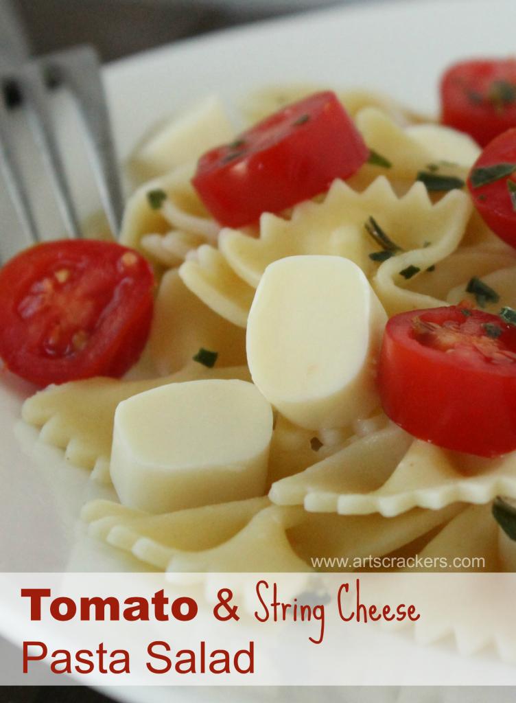 Mozzarella Cheese Stick Tomato Basil Pasta Recipe