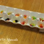 DIY Egg Carton Mancala Craft | Games for Kids