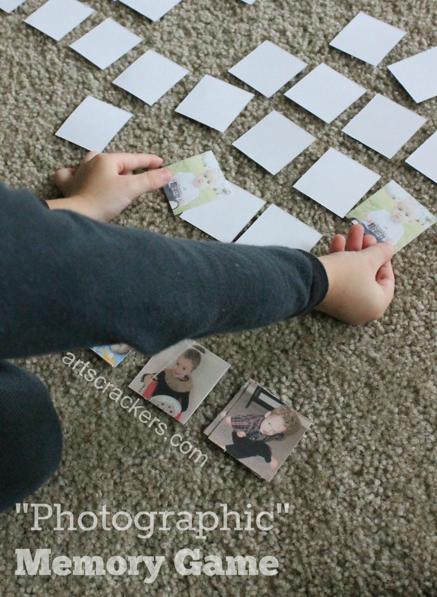 DIY Photographic Memory Card Game