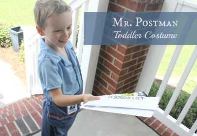 Mr Postman USPS Toddler Costume