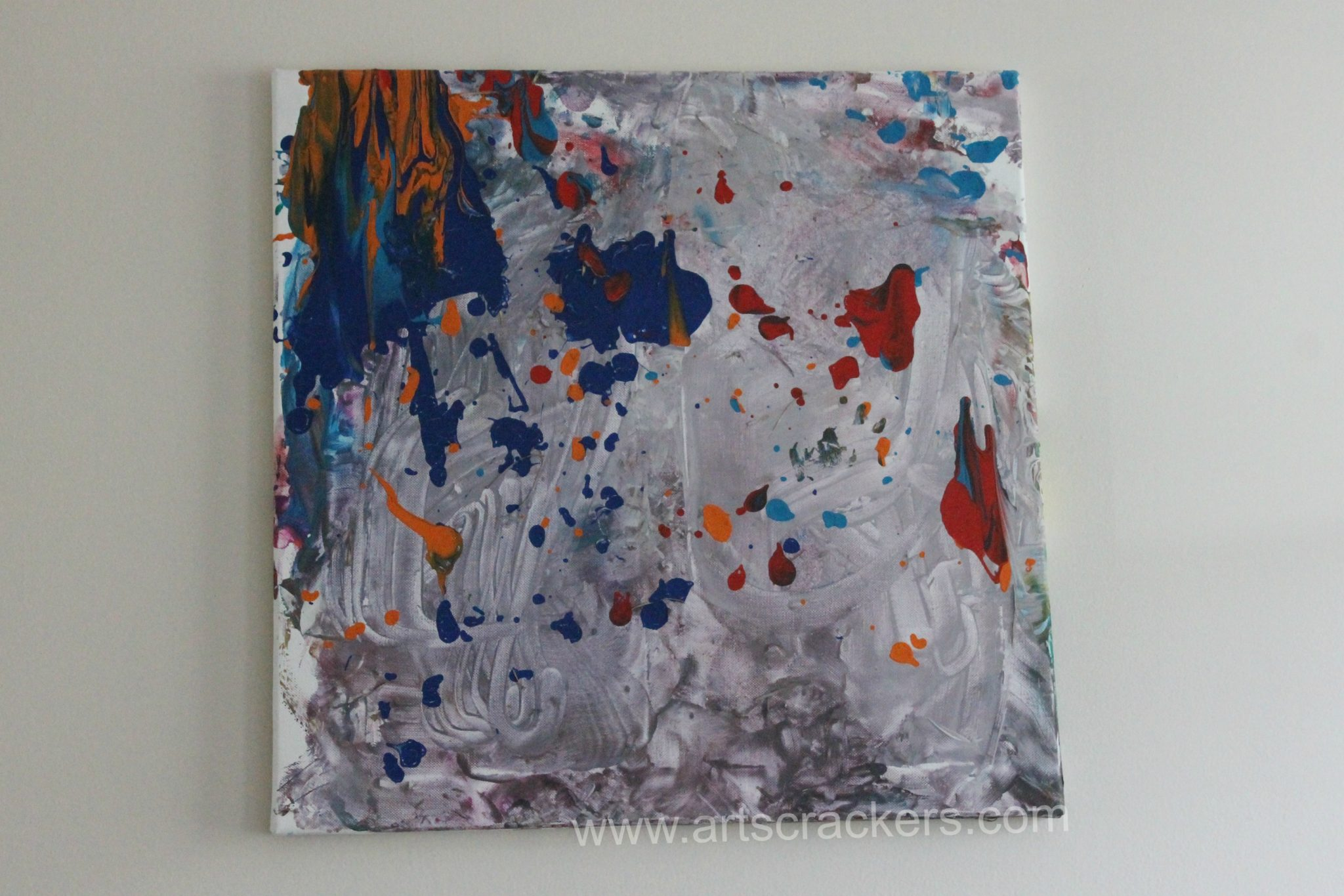 Outdoor Canvas Abstract Painting