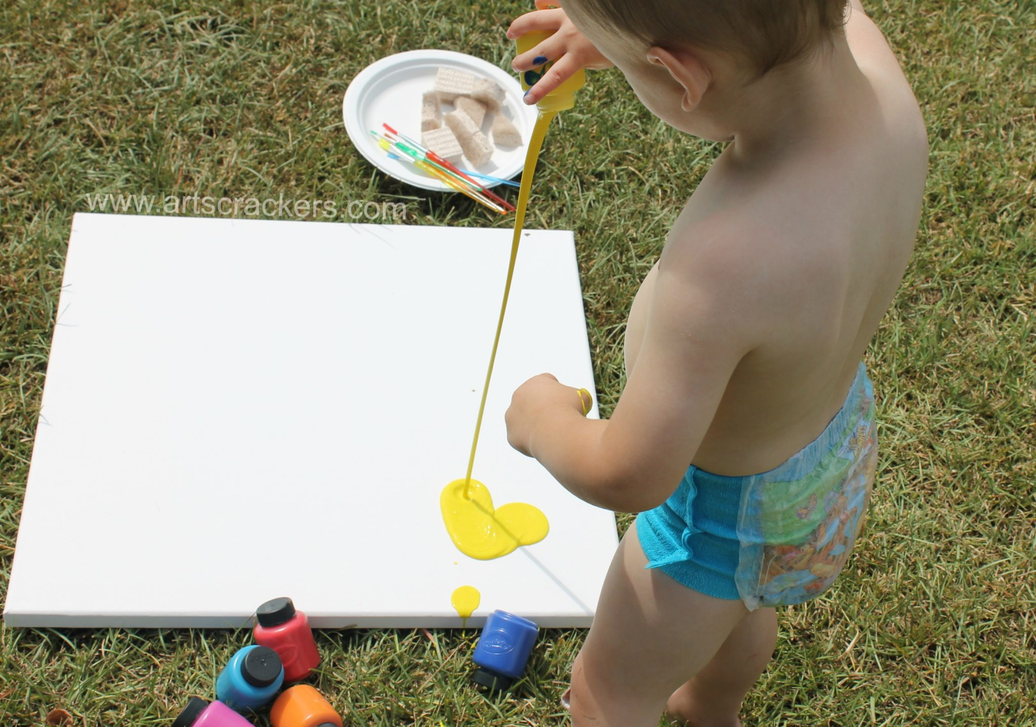 Outdoor Canvas Painting Project 1