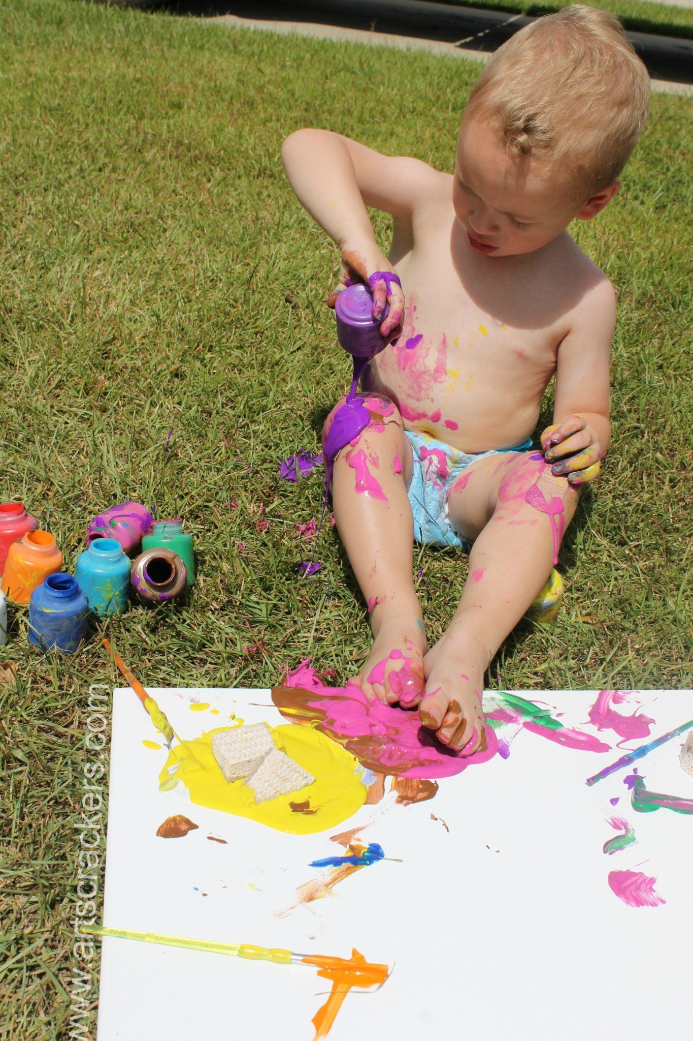 Outdoor Canvas Painting Project 2