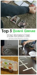 Top 5 Board Games Using Household Items