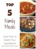 Top 5 Family Meals (and How to Stretch Your Ingredients) | High Five Friday