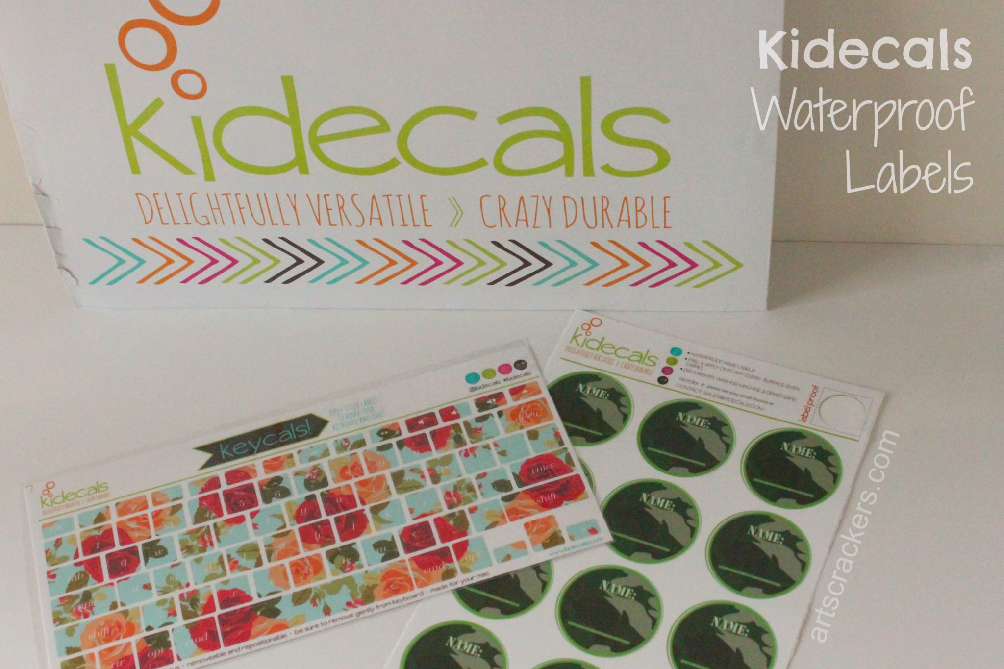 Kidecals Label Stickers