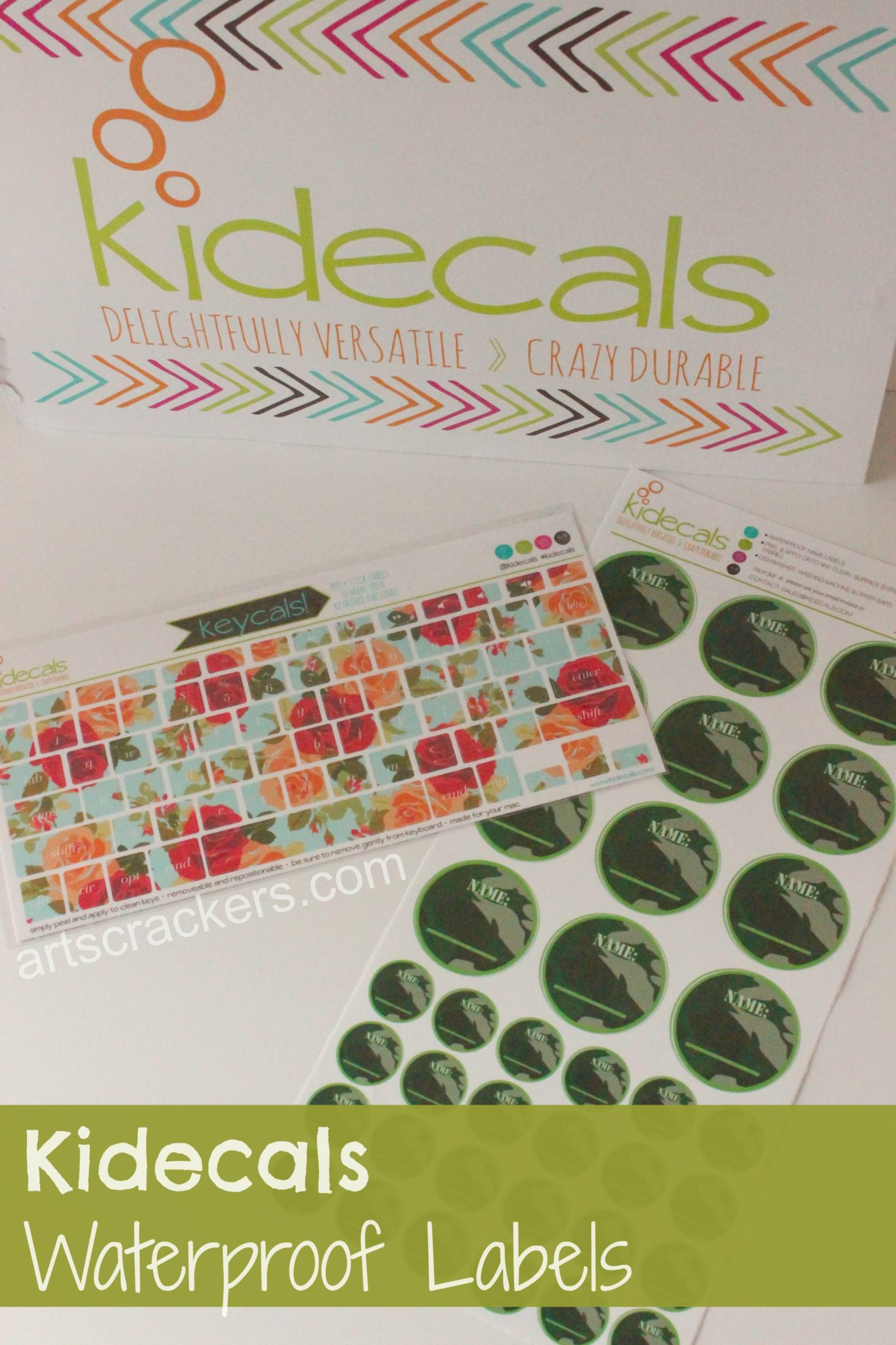 Kidecals Waterproof Labels