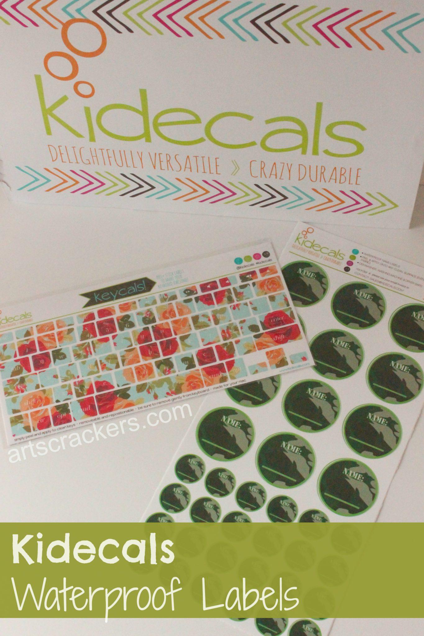 Kidecals Waterproof Labels