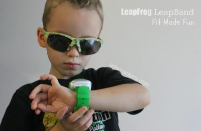 LeapFrog LeapBand Fit Made Fun