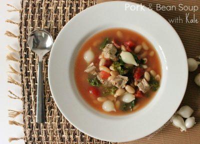 Pork Tenderloin Cannellini Beans Kale Soup